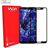 WOW Imagine Full Glue 5D Edge-to-Edge Screen Protection Tempered Glass for Nokia 5. 1 Plus