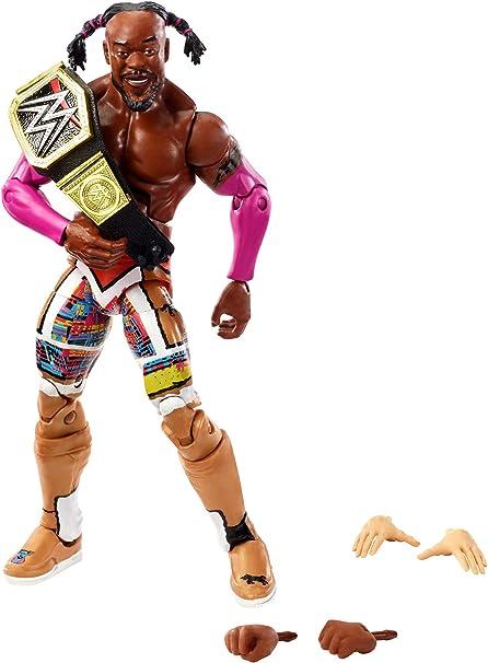 Officiel wwe mattel basic série 1-Kofi Kingston wrestling action figure