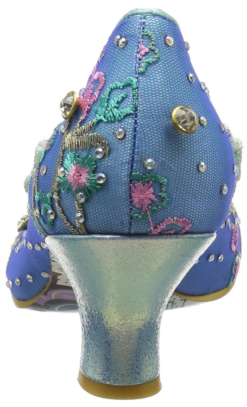 Irregular Choice Damen Dazzle Dazzle Damen Razzle Pumps, Blau Blau (Blau/Mint At) b4a4e7