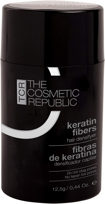 THECOSMETICREPUBLIC - Fibras de Keratina Castaño Oscuro -12.5g
