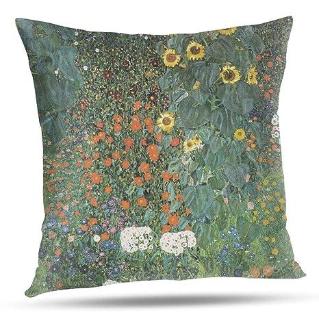RCXrBFE Funda de Almohada, 40 x 40 cm Gustav Klimt - The ...