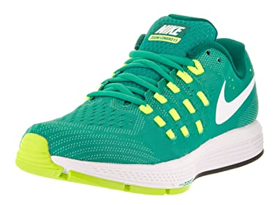 Nike Women's Air Zoom Vomero 11 Clear Jade/White Volt Rio Teal Running Shoe  5