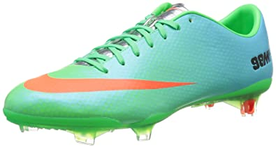 ce03b19dfaa9 Nike Men s Mercurial Vapor IX FG Low Soccer Cleats (6.5) Lime