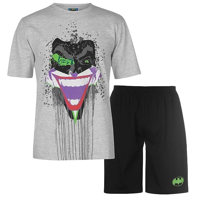 DC Comics - Pijama - para Hombre Negro Grey/Black XX-Large