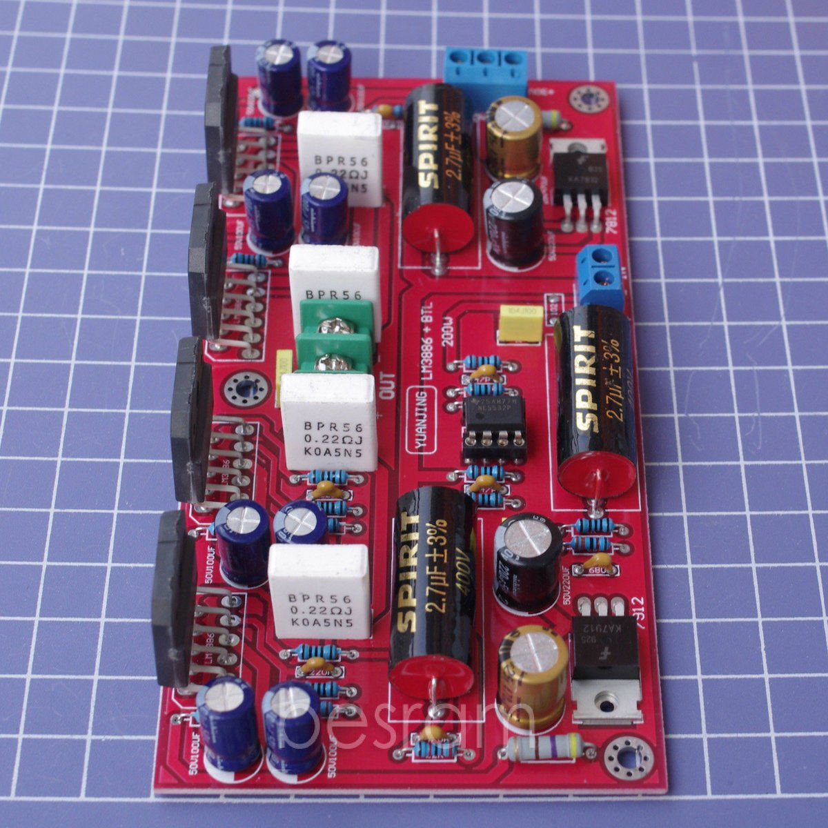 Lm3886 4 Ne5532 Btl Audio Power Amplifier Board 150w Parallel 200w Electronics
