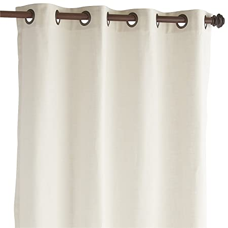 Pier 1 Imports Cassidy Chambray Ivory 84 Grommet Curtain By Amazoncouk Kitchen Home