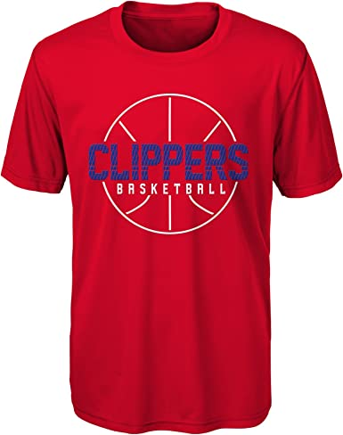 Outerstuff Boys NBA Reflective Authentic Short Sleeve Tee