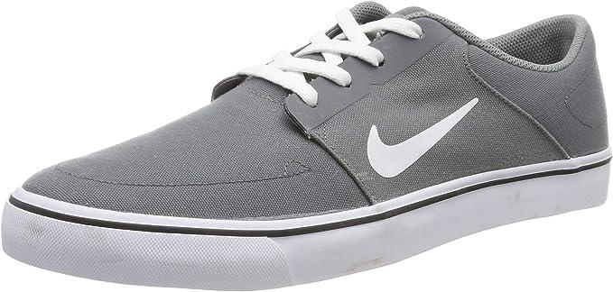 Nike Men's SB Portmore CNVS Cool Grey