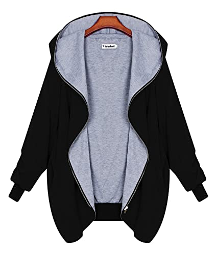 Yidarton Mujer Chaqueta Con Capucha Abrigo Manga Larga con Capucha Coat Jacket Otoño