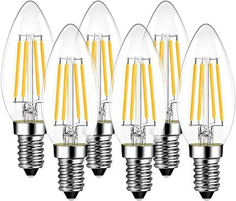 5er SET LED Leuchtmittel E14 warben-Lampe Lampen 7 Watt ker-Birne warmweiß