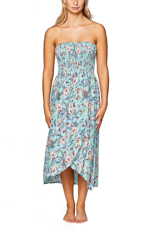 ESPRIT Maxi-Kleid mit Buntem Blumen-Print