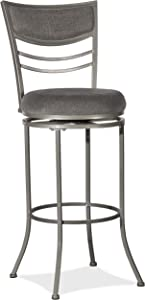 Hillsdale Furniture Amherst Swivel Height Bar Stool Champagne