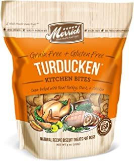 product image for Merrick Kitchen Bites for Pets, 9-Ounce, Turducken by Merrick