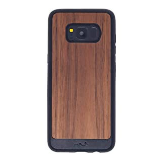 MOUS Protective Samsung Case Galaxy S8 - Walnut Wood- Limitless 2.0