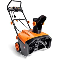 TACKLIFE Snow Blower, 15A Corded Snow Blower, 24 tons Snow Throwing/Hour, 20'' Width & 10'' Depth, 180° Rotatable Chute…