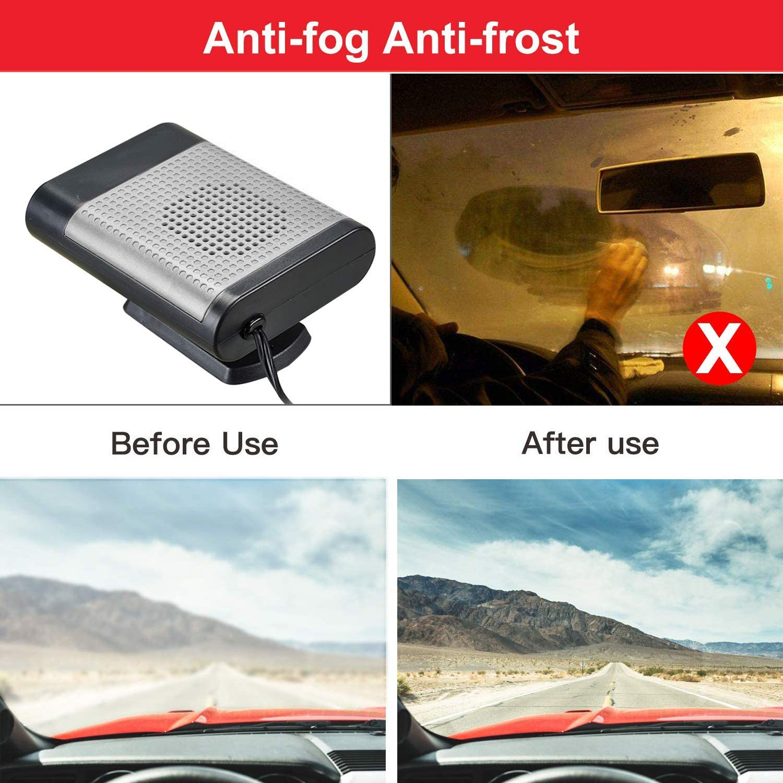 150 W sbrinare con presa accendisigari LFES per sbrinare 12 V per auto Riscaldatore portatile per auto