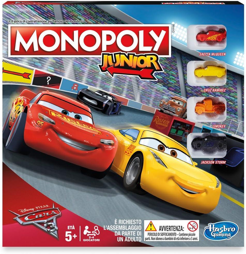 Hasbro Monopoly Junior Cars: Amazon.es: Juguetes y juegos