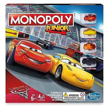 Junior CarsAmazon Hasbro esJuguetes Monopoly Y Juegos b6gyfv7Y