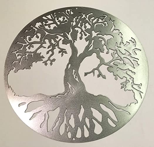 Amazon Com 18 To 30 Tree Of Life Steel Home Decor Made In U S A