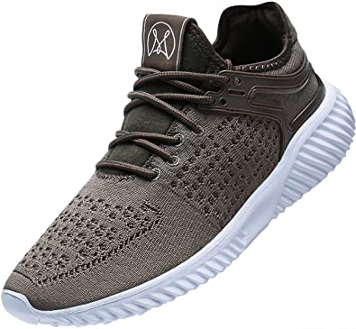 9b3b4fc61b459 Wonesion Lightweight Sneakers for Men Breathable Tennis Athletic Casual  Walking Shoes …