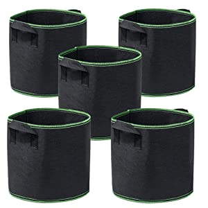 Garden4Ever Grow Bags Aeration Fabric Pots Container