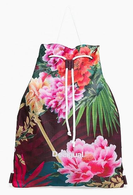 Desigual Tropic Gym Backpack Raspberry Bis 30HlKp