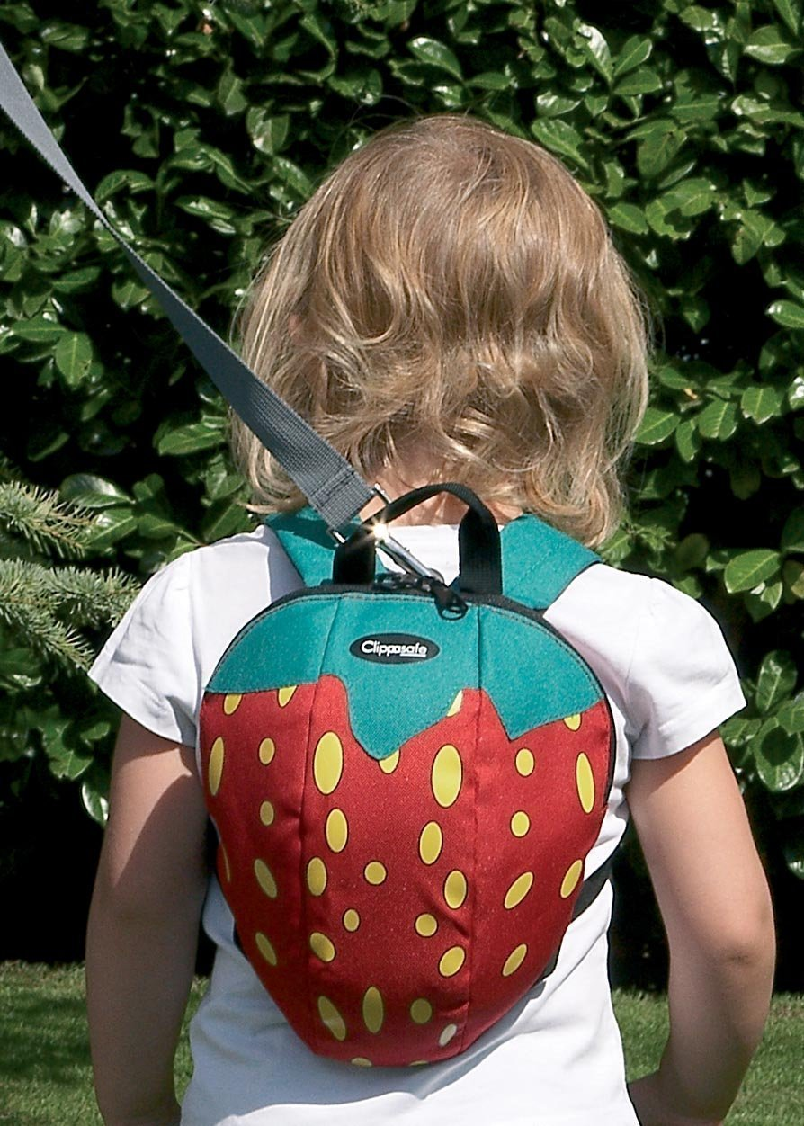 Clippasafe Toddler Daysack Strawberry CL663