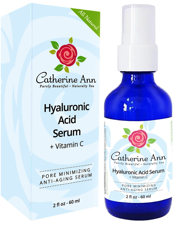 Catherine Ann Pore Minimizer Hyaluronic Acid Face Serum, 2 oz