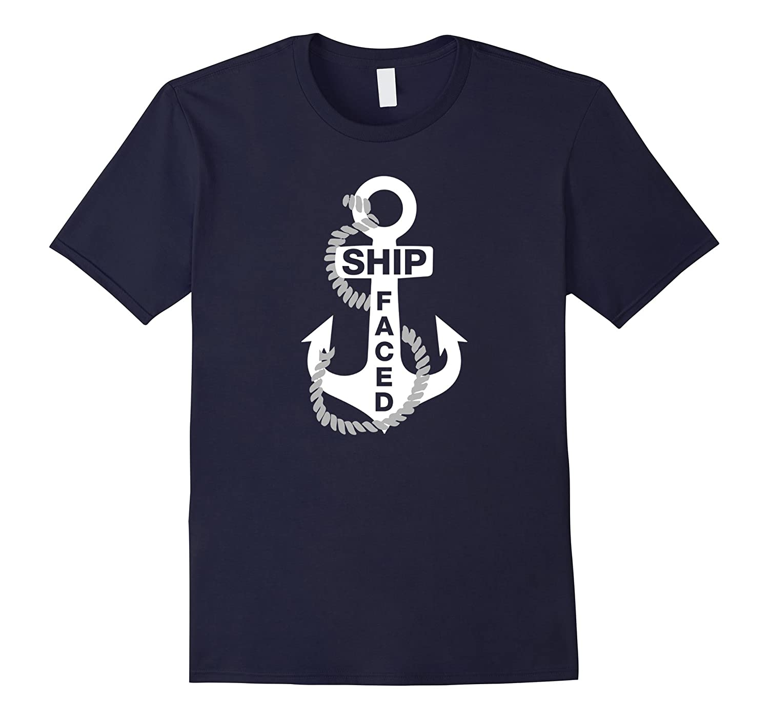 SHIP FACED funny boat or cruise shirt-FL