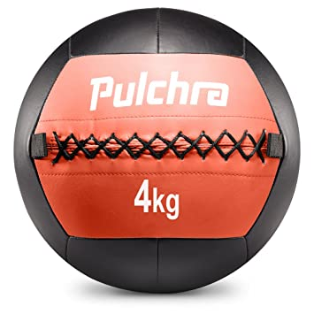 db1621aaa PULCHRA Soft Medicine Ball (8 Colours) Leather Medical Slam Weight Wall  Ball Fitness Training Workout Exercise ...