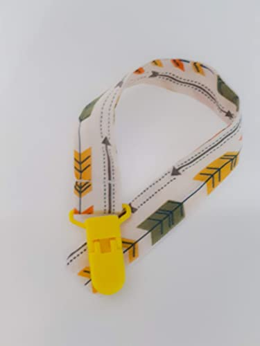 CHUPETERO Bebe Cadena chupete flechas indi: Amazon.es: Handmade