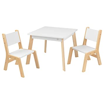 table 2 chairs. kidkraft modern table and 2 chair set chairs