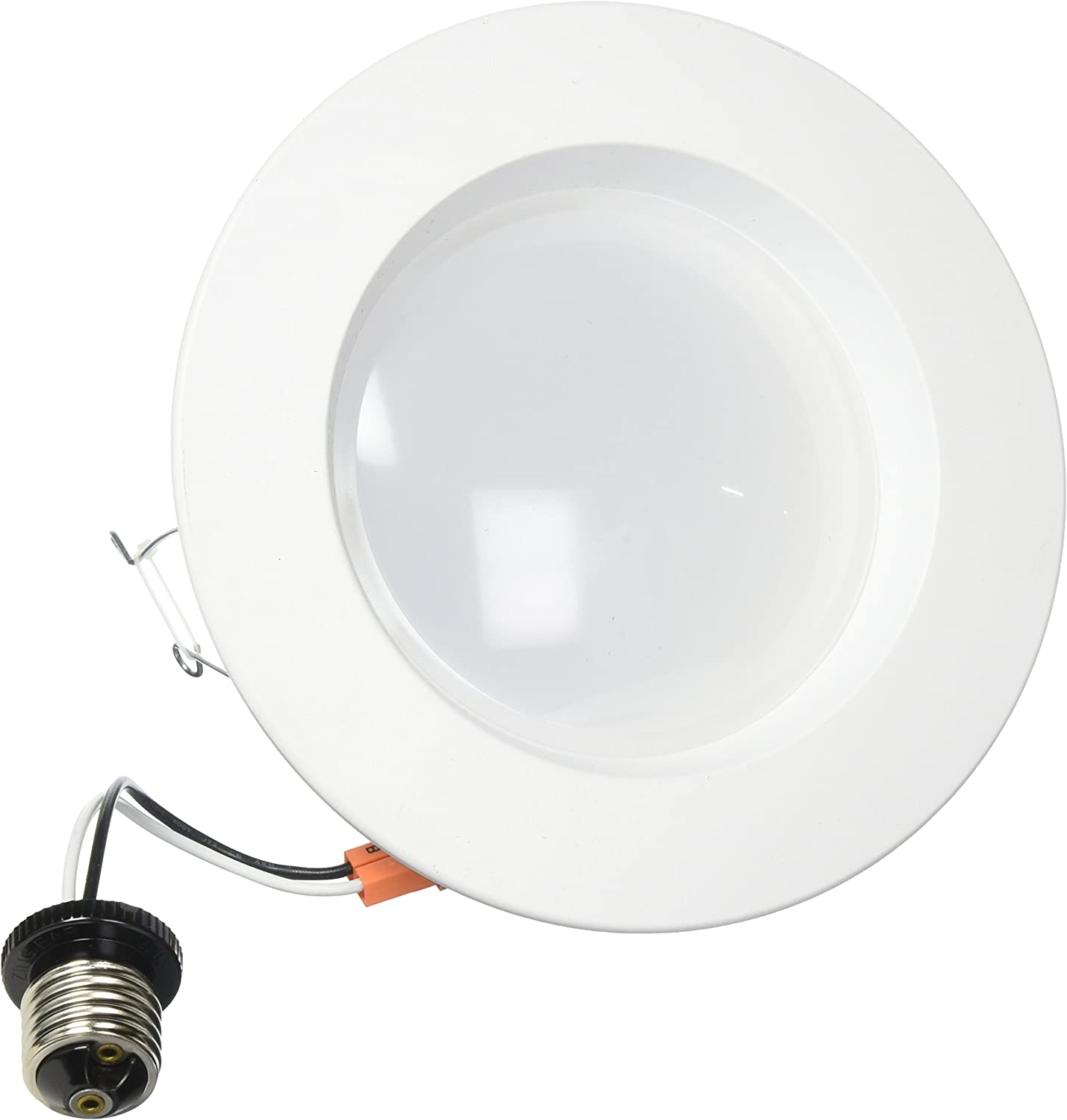 Feit LEDR56/827 1290 Lumen 2700K 5 & 6 Inch Dimmable Retrofit Kit - 120W EQUIVALENT, 17.2w