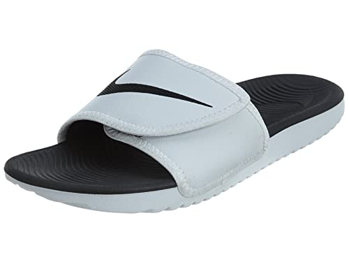 info for cecfa 5a57b Nike KAWA Men s Adjustable Slide Sandal White Black 8 D(M) US  Buy Online  at Low Prices in India - Amazon.in