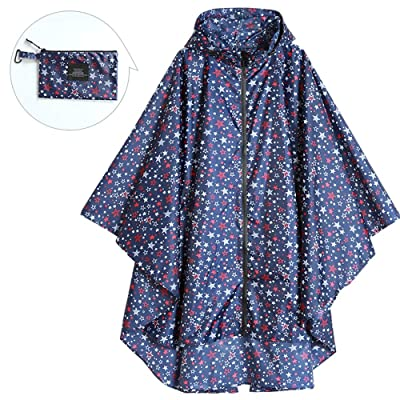 @Y.T Poncho Impermeable de Capa Impermeable para Mujer,A: Deportes y aire libre