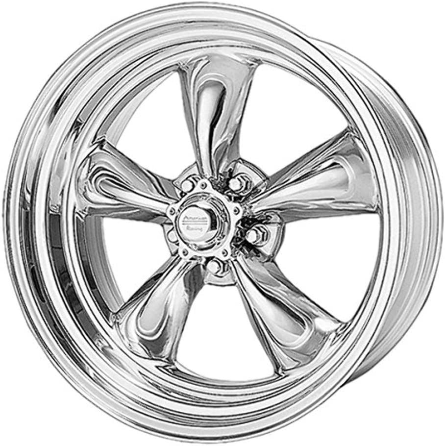 15x10//5x114.3mm, -44mm offset American Racing Custom Wheels VN515 Torq Thrust II 1 Pc Polished Wheel