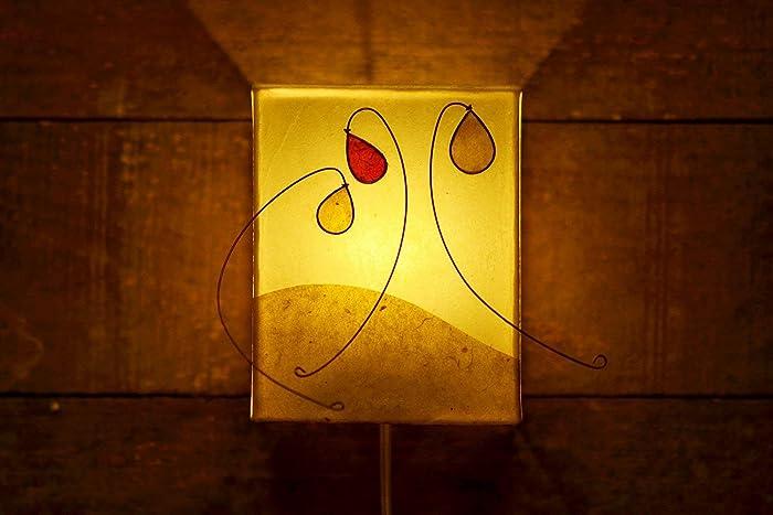 Lampadario Di Carta Velina : Paralume plafoniera da parete lampada fatta a mano fiori lampada
