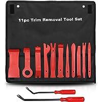 Car Trim Removal Tool Kit Interior ? LEDAUT Car Door Upholstery Trim Clip Panel Remover Nylon Fiber Fastener Removing…