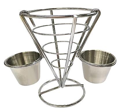Amazon.com: Vertily Fries – Soporte de dos tazas para ...