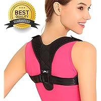 Posture Corrector for Women Men - Back Brace Shoulder Posture Corrector Men Women Under Clothes Upright Bra Posture Trainer Brace Support Back Straightener Body Wellness Posture Corrector