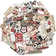 Ephemera Pack - Snippets by Tim Holtz Idea-ology, Various Sizes, 111 Pieces (TH93564)