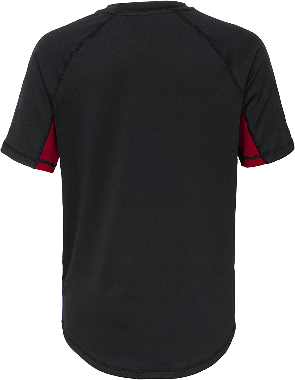 NCAA Youth 8-20 Short Sleeve Rash Guard