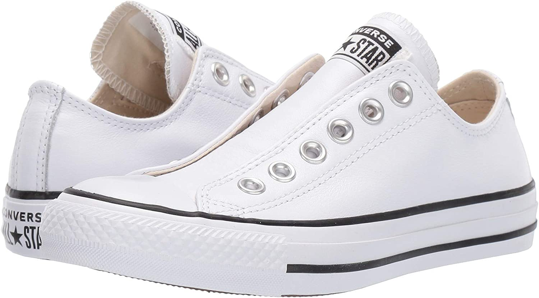 cumpleaños Lechuguilla famélico  Amazon.com | Converse Men's Chuck Taylor All Star Leather Sneakers |  Fashion Sneakers