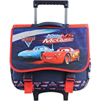 Kids' Mqueen Rolling School trolley Backpack for 3-12years old