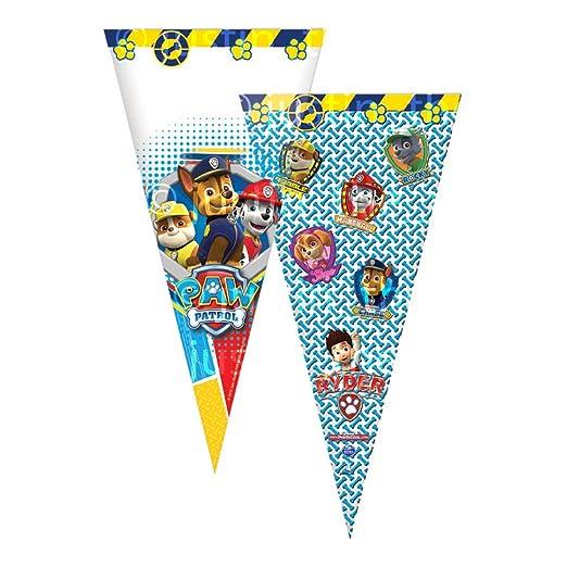 Paw Patrol 6 Bolsas de Fiesta * Triangular Cono/Cumpleaños ...