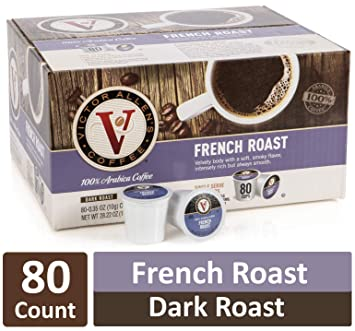 Down At Victor Allens Coffee Trying Out >> Amazon Com French Roast For K Cup Keurig 2 0 Brewers 80 Count