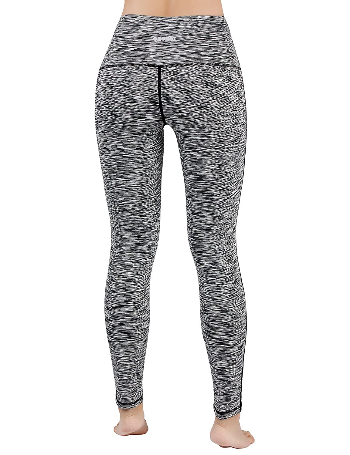 ODODOS Womens High Waisted Tummy Control Yoga Pants,Full-Length Leggings with Inner Pockets