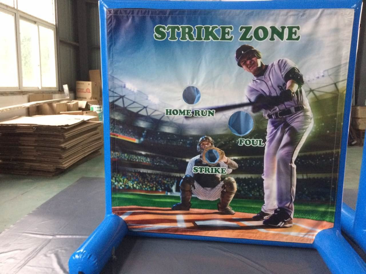 Sealed Inflatable Air Frame Game Frame Only with Hand Pump and Stakes Included for Carnivals, Schools, Churches, Birthday Parties, and Other Events