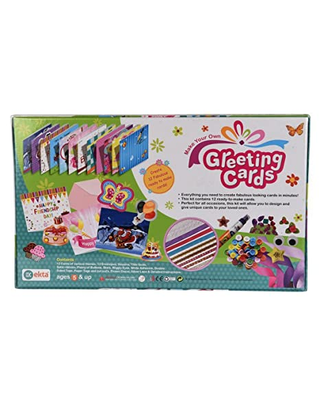 Buy Ekta Greeting Cards Decoration Material Kit Multicolour Online At Low Prices In India