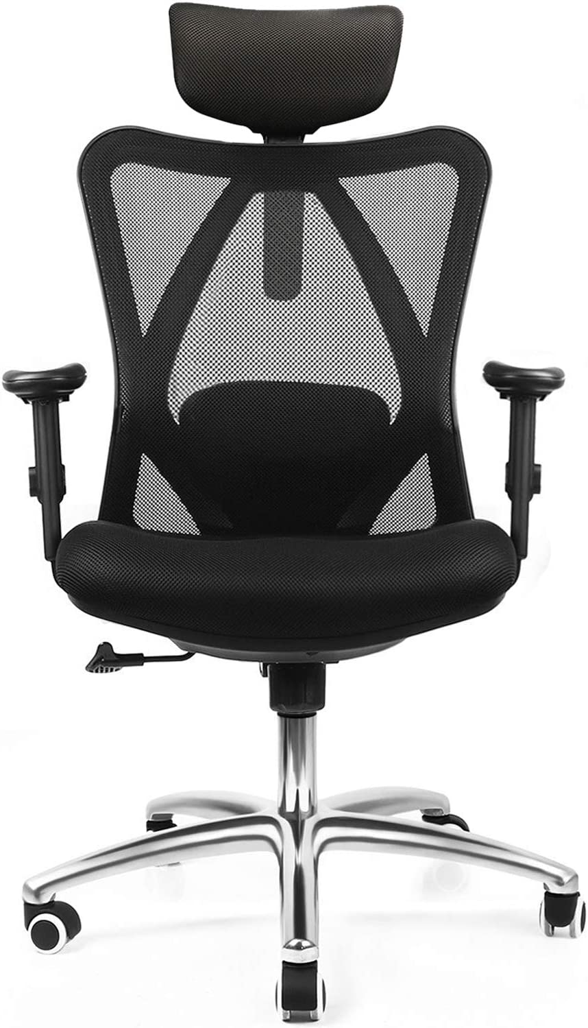 Mfavour Ergonomic Office Chair with Adjustable Arms